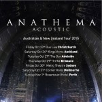 Anathema (UK) announce Australia & New Zealand acoustic tour
